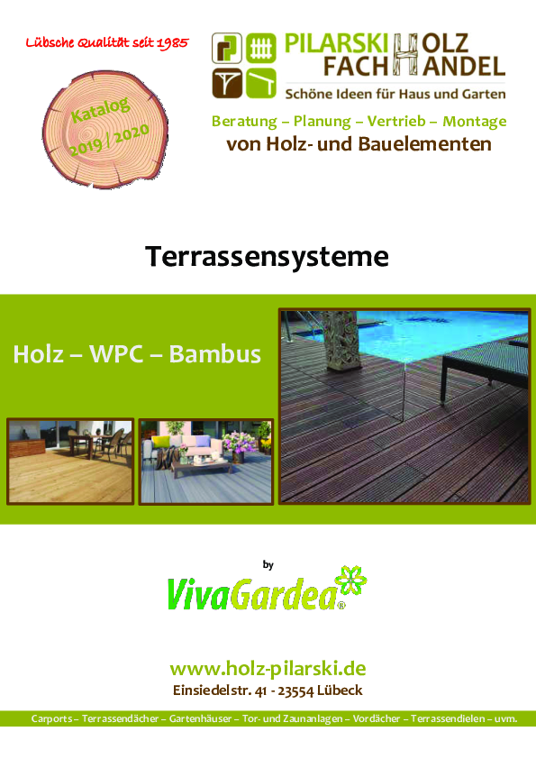Vivagardea Terrassensysteme 2019